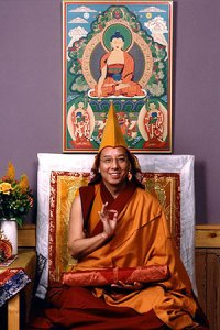 13th Kundeling Rinpoche Tagtsha Jetung Rinpoche