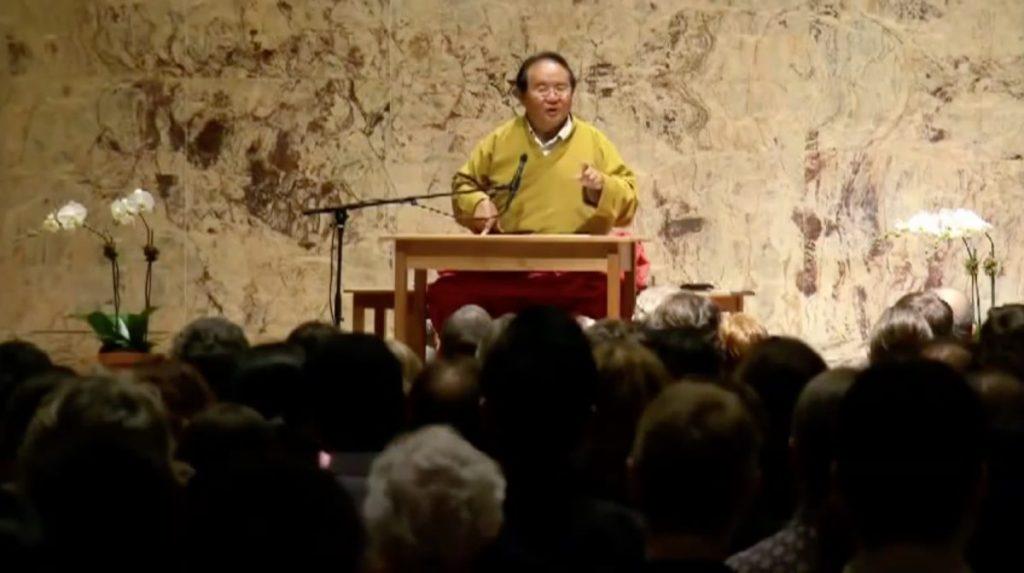 The Dalai Lama and Sogyal Rinpoche: A Roaring Silence