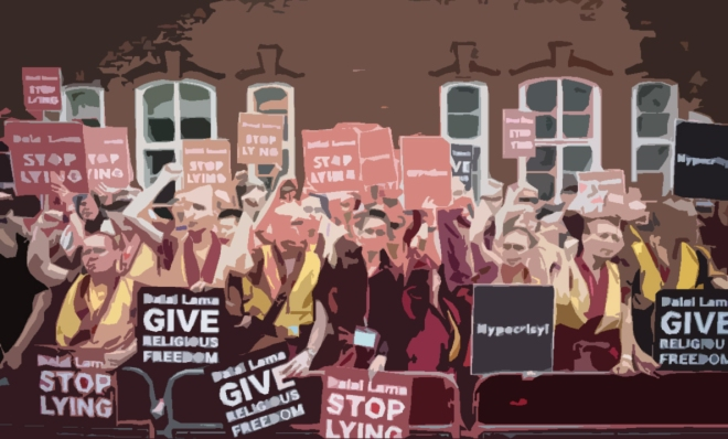 Shugden-protests-NKT