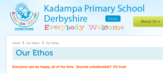 Kadampa Primary School Derbyshire - A Happiness Cult? (1/2)