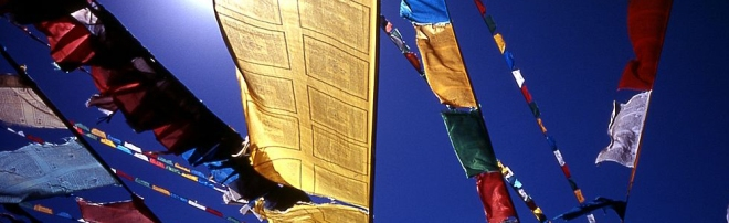 Prayer Flags Tibet (2005) © Yasunori Koide