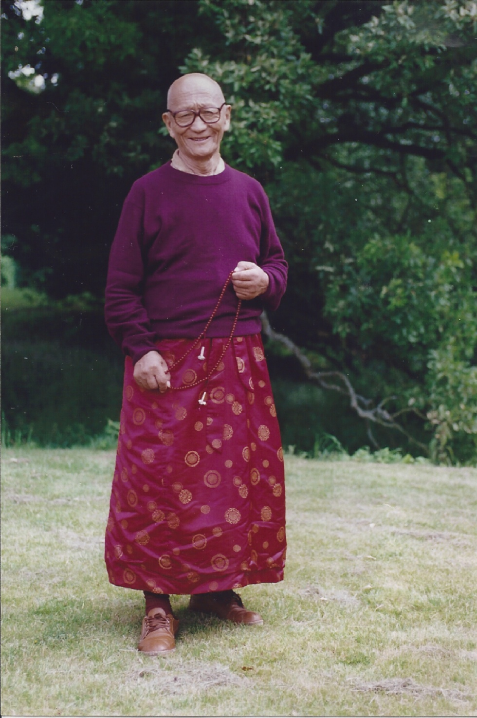 Picture of Kuten Lama at Manjushri.
