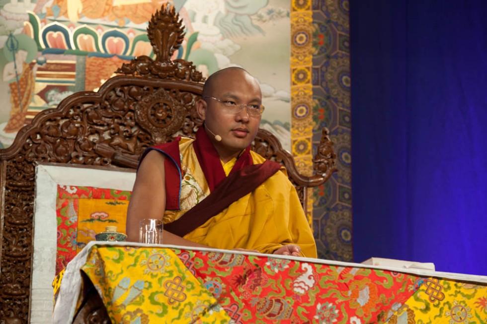 The 17th Karmapa, Ogyen Trinley Dorje