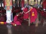Ari Khensur Rinpoche Lobsang Tharchin memorial service in Sera