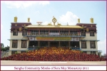 Sangha Community Monks of Sera Mey Monastery 2011