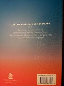 Back-TheOralInstructionOfMahamudra-KelsangGyatso