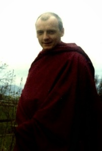 From 1991 to 1995 Gelong Thubten Gyatso (a.k.a. Neil Elliot) was 'the chosen one' to succeed former Geshe Kelsang. He was known as the 'heart-disciple' of GKG, who wrote a long life prayer for him recited regularly at NKT centres. Thubten was later disrobed because of a 'breach of his monastic vows', a polite way of saying sexual abuse. Neil Elliot (Thubten) organized and attended the WSS demonstrations–the old man himself reassigned Elliot to 'special ops'.