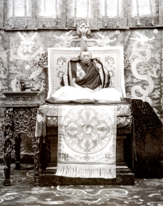 The 13th Dalai Lama, Thubten Gyatso (1876–1933).