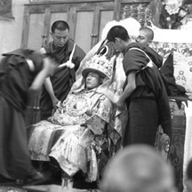 Nechung, the Chief State Oracle of Tibet