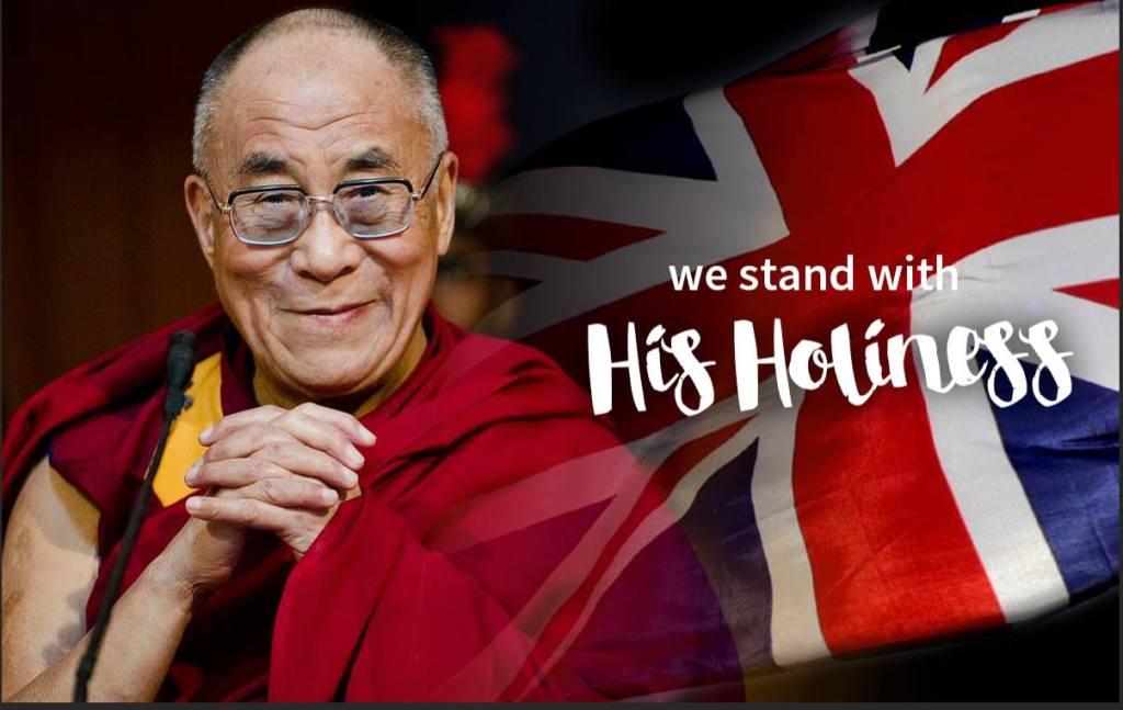 Dalai Lama UK 2015 Visit