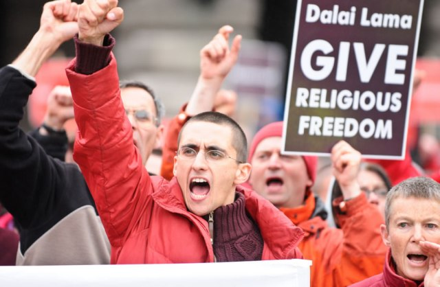 Dalai Lama Protests Shugden Kadampa