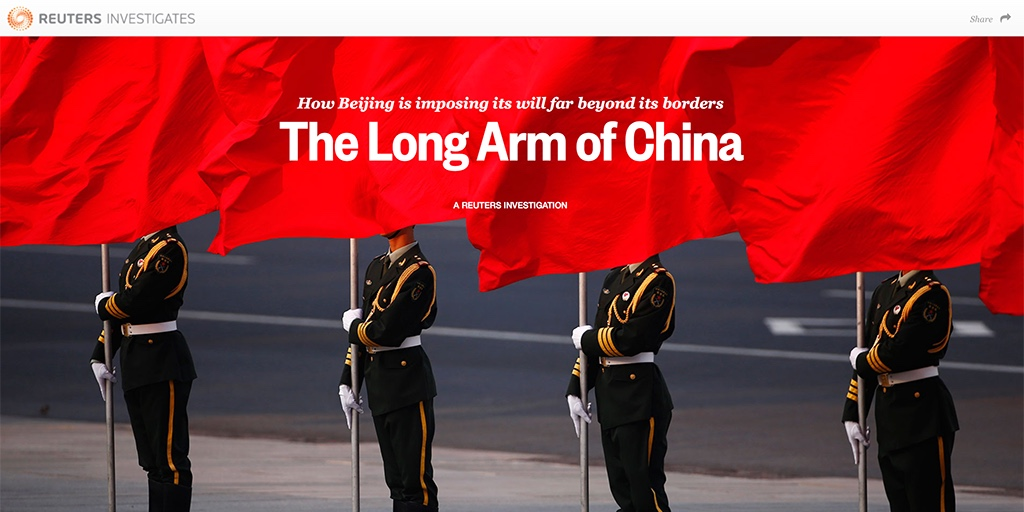 reuters the long arm of china