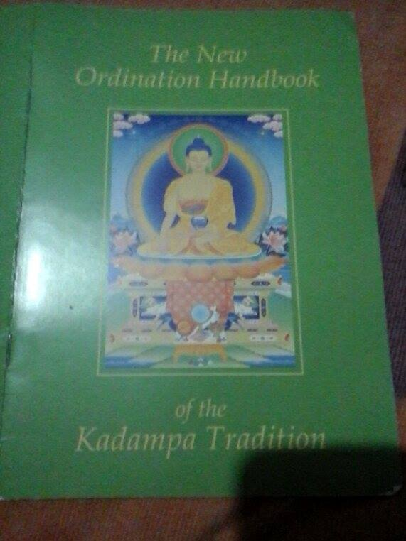 KadampaOrdination-KelsangGyatso-OrdinationHandbook