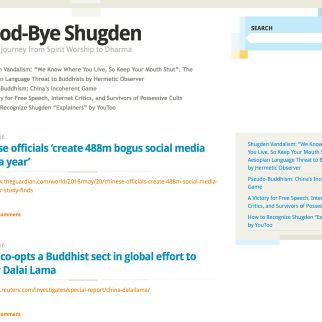 Origin Anti-Tsem blog Good-Bye Shugden – not run by me
