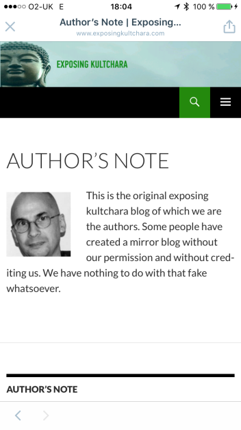 exposingkultchara.com fake site