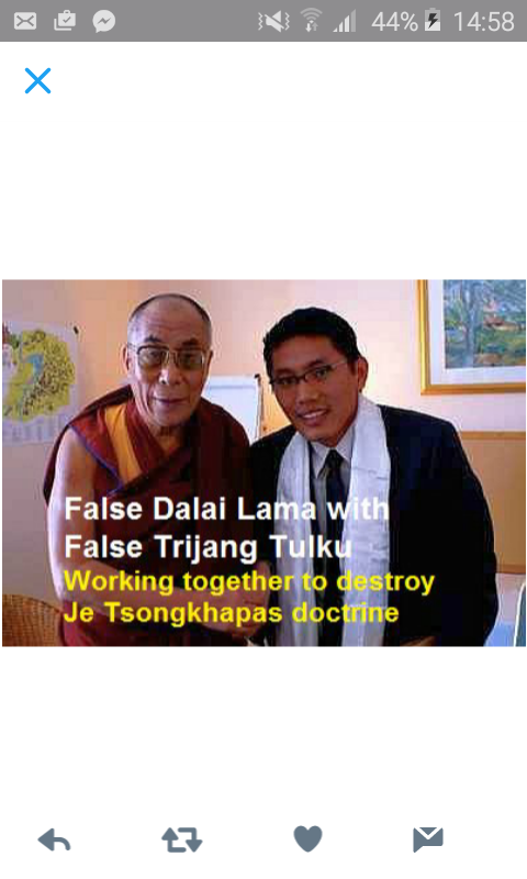 Kadampa Geshe Kelsang Gyatso Trijang Tulku
