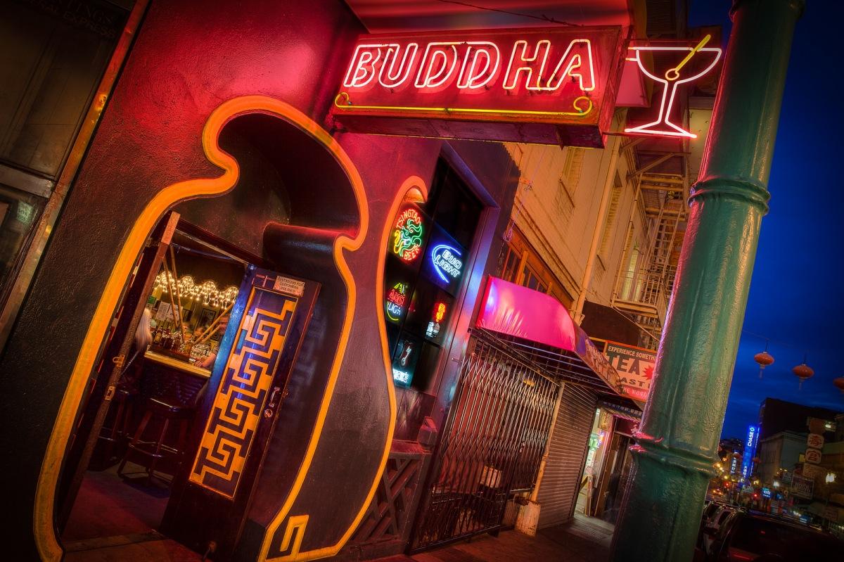 Three Buddhists Walk into a Bar